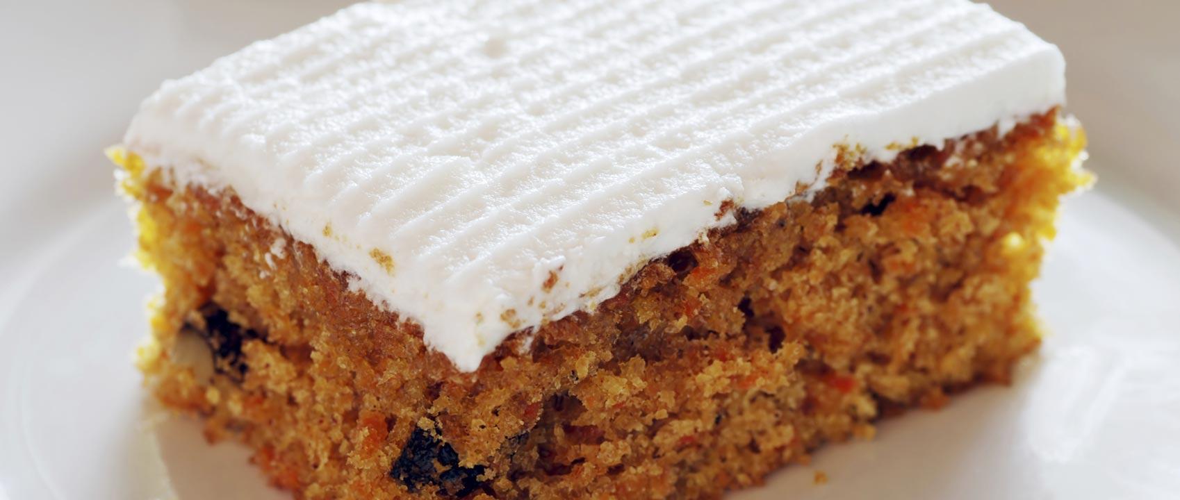 Carrot Cake Benefits